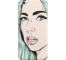 Cold queen iPhone Case/Skin