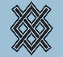 Gungnir, Odin's spear, Rune Gar, Viking, Magic, Protectiv Symbol One Piece - Short Sleeve