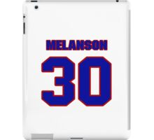 National Hockey player Roland Melanson jersey 30 iPad Case/Skin