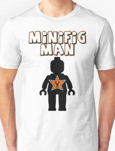 Minifig Man [Black], Customize My Minifig Star Logo T-Shirt