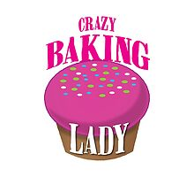 CRAZY BAKING LADY by jazzydevil