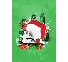 Skull Christmas - Green Mark II Photographic Print