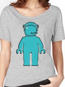 Banksy Style Astronaut Minifigure Women's Relaxed Fit T-Shirt