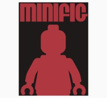 Retro Large Black Minifig, Customize My Minifig Kids Clothes