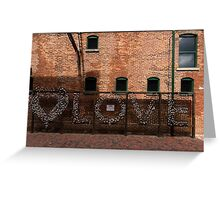 LOVE in the Shadows Greeting Card