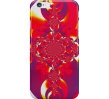 Red Fire Scarab IV  iPhone Case/Skin