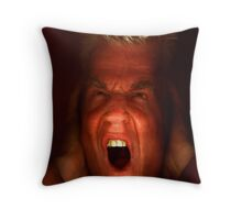 Funch's 'The Scream !' Throw Pillow