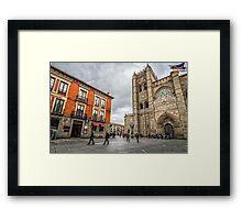 Avila Cathedral Framed Print
