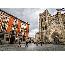 Avila Cathedral Photographic Print