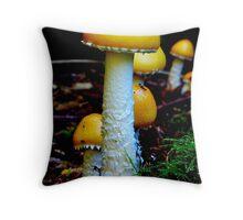 Fairys home Throw Pillow