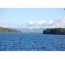 Scenic NH Lake View Photographic Print
