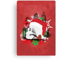 Skull Christmas - Red Mark II Canvas Print
