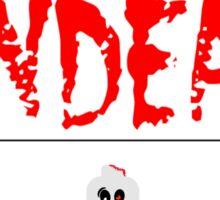 DANGER UNDEAD Sticker