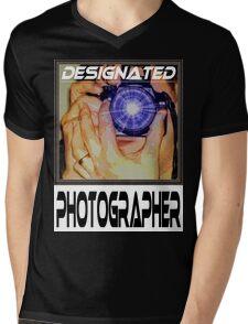 Designated Photographer Mens V-Neck T-Shirt