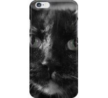 Green eyed cat iPhone Case/Skin
