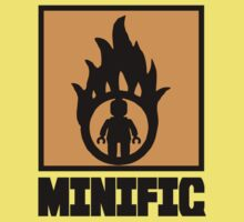 MINIFIG IN FLAME LOGO One Piece - Short Sleeve