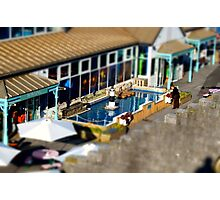 Seaside Cafe Photographic Print