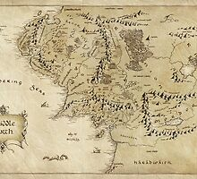 Middle Earth Map by augustinet