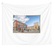 Cathedral Square in Avila Wall Tapestry