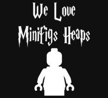 'We Love Minifigs Heaps' Customize My Minifig Kids Clothes