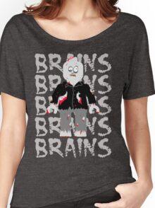 BRAINS BRAINS BRAINS BRAINS BRAINS Women's Relaxed Fit T-Shirt