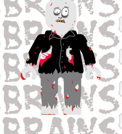 BRAINS BRAINS BRAINS BRAINS BRAINS Sticker