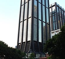 HK Central Buildings V - Hong Kong. by Tiffany Lenoir