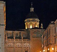 Dubrovnik (Croatia) by night by Arie Koene