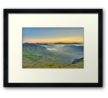 Newlands Valley from Dale Head Framed Print