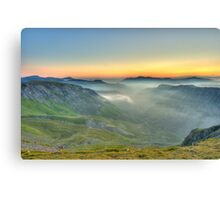 Newlands Valley from Dale Head Canvas Print