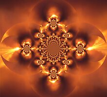 Fire Jeweled Scarab  II by sherrie-larch