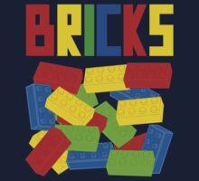 Colored Bricks One Piece - Short Sleeve