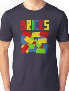 Colored Bricks Unisex T-Shirt