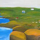 Peggy's Cove - Nova Scotia by Jane Whittred