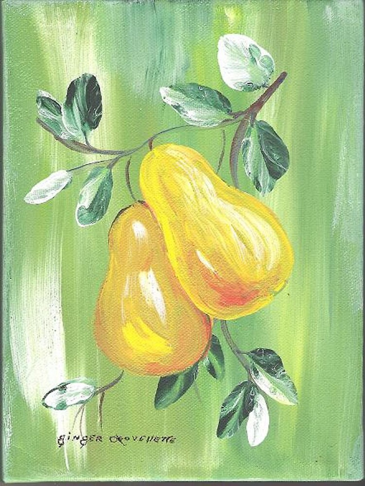 Pair of Pears by Ginger Lovellette