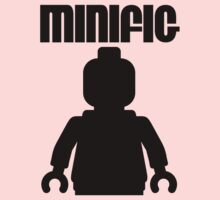 Retro Large Black Minifig, Customize My Minifig One Piece - Long Sleeve