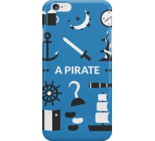Once Upon A Time - A Pirate iPhone Case/Skin