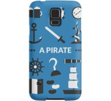 Once Upon A Time - A Pirate Samsung Galaxy Case/Skin