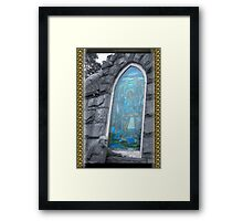 Today I Saw TWO Angels Framed Print