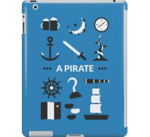 Once Upon A Time - A Pirate iPad Case/Skin
