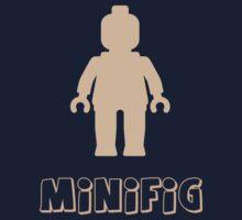 Minifig [Flesh Pink], Customize My Minifig Kids Tee