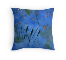 Van Gogh (by Erica 10 years old) Throw Pillow