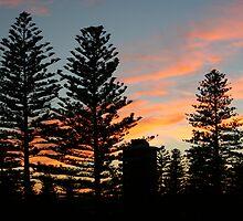 Glenelg Winter Sunrise by Kelly Lewis