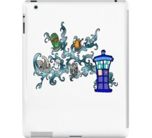 Tardis Bad Guys iPad Case/Skin