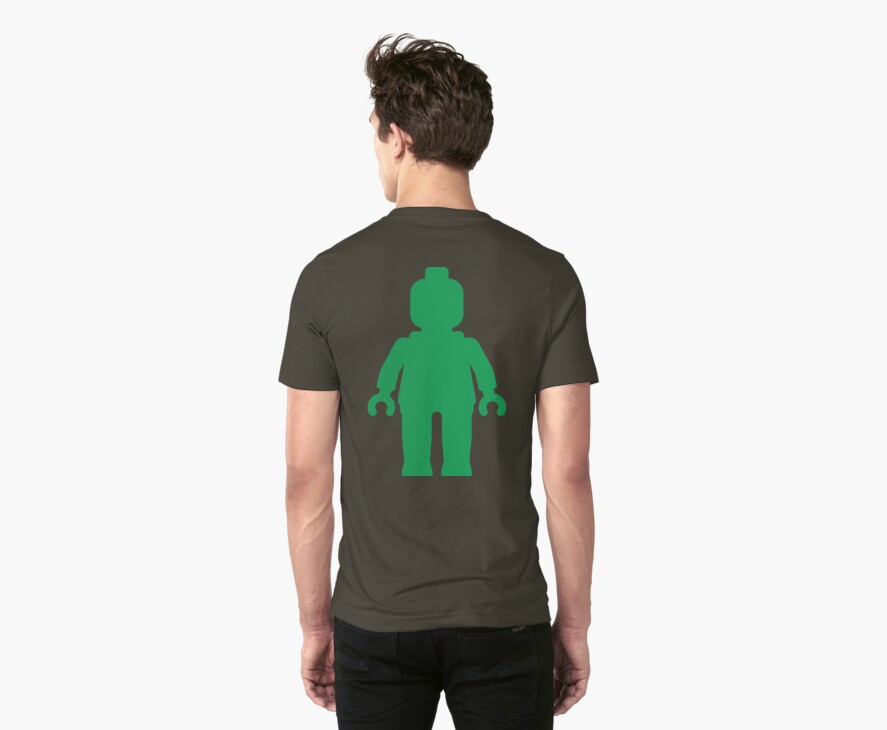 Minifig [Large Green] by Customize My Minifig