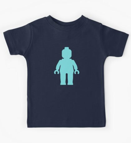 Minifig [Light Blue], Customize My Minifig Kids Tee