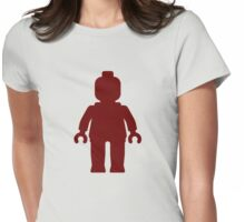 Minifig [Dark Red], Customize My Minifig Womens Fitted T-Shirt