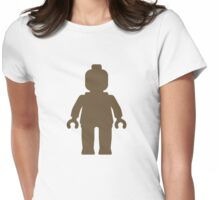 Minifig [Light Brown], Customize My Minifig Womens Fitted T-Shirt