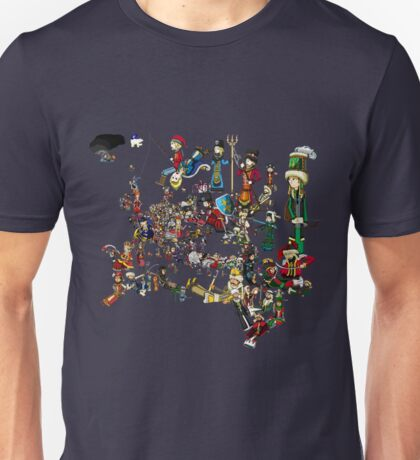 EUROPA UNIVERSALIS - National Personifications Map - 1444 Unisex T-Shirt
