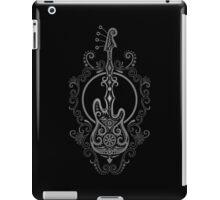 Intricate Dark Bass Guitar Design iPad Case/Skin